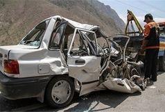 فوت یک نفر بر اثر تصادف در مسیر همدان کردستان