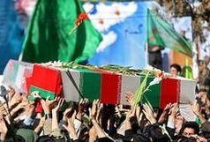 ورود پیکر مطهر ۴۶ شهید دوران دفاع مقدس به کشور از مرز مهران