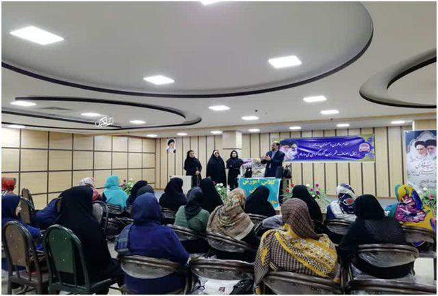 12دوره آموزش تخصصی وعمومی فرش دستباف در گیلان برگزار شد