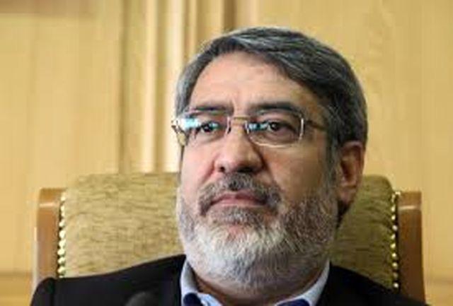 وزیر کشور جان باختن تعدادی از هموطنان در استان های شمالغرب کشور را تسلیت گفت