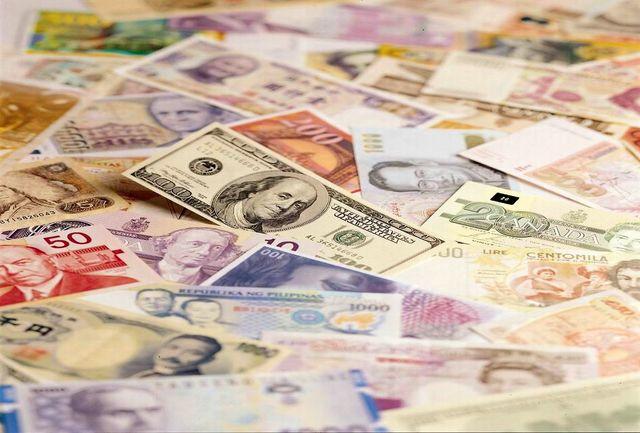 افزایش نرخ بانکی 21 ارز