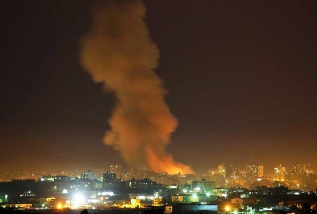 اسرائیل به غزه حمله کرد