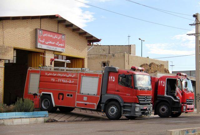 استقرار 7 ایستگاه آتش نشانی در شهرکهای صنعتی قزوین
