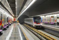 خط ۶ مترو تهران متوقف شد