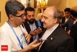 سلطانیفر: زبان ورزش، زبان تحکیم بین ملتهاست/ مذاکرات خوبی بین فدراسیون و کیروش انجام شده است