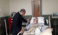 سلطانیفر از رئیس بنیاد شهید و امور ایثارگران عیادت کرد