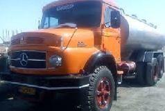توقیف کامیون حامل 4 تن شیرخام فاقد مجوز  در قاین