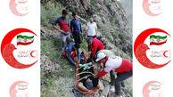 سقوط یک کوهنورد از ارتفاعات ملوسان نهاوند