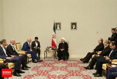 دیدار رییس فیفا با رییس جمهور ایران/ ببینید