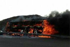 انفجار اتوبوس پرسنل سپاه در سیستان و بلوچستان
