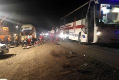 واژگونی اتوبوس ۶ مصدوم برجای گذاشت