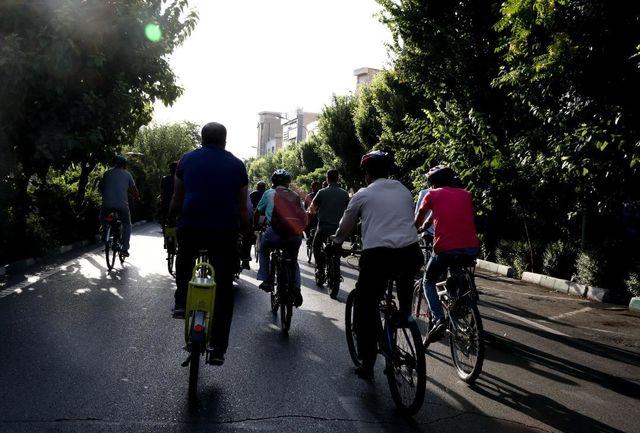همایش بزرگ دوچرخهسواری به مناسبت دهه کرامت برگزار شد