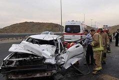 یک کشته در تصادف اتوبوس با پراید در زاهدان