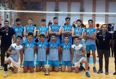 هیات والیبال کردستان به لیگ دسته دوم کشور صعود کرد