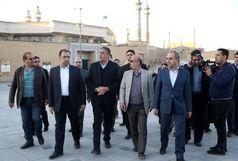 تاکید وزیر راه بر تسریع در تکمیل شبستان فاطمی حرم حضرت معصومه(س)