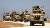 آمریکا ۵۰ خودروی نظامی و کامیون حامل سلاح به الحسکه منتقل کرد