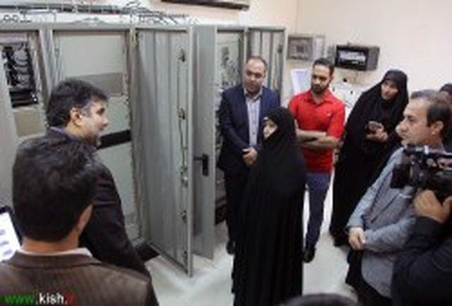 بازدید مدیران شرکت فرودگاه ها و ناوبری هوایی ایران از فرودگاه بین المللی کیش