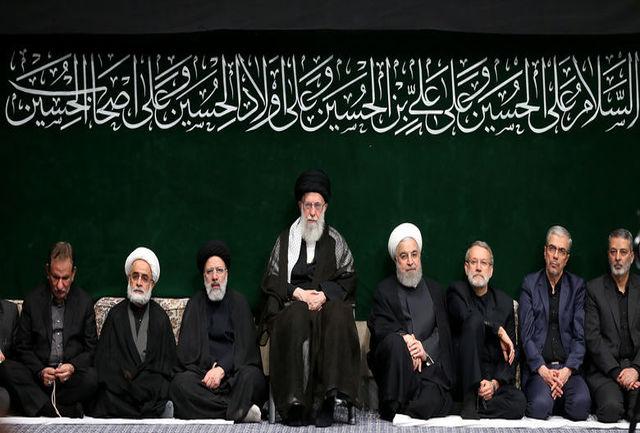 دومین شب مراسم عزاداری امام حسین (ع) در حسینیه امام خمینی