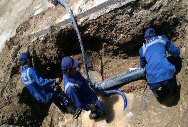 رفع بیش از 120 مورد شکستگی شبکه توزیع آب / تعویض 78 دستگاه کنتور معیوب