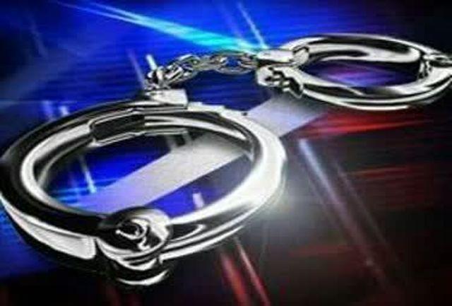 دستگیری سارق منازل در خوی