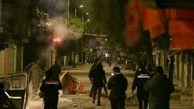 تداوم درگیری بین پلیس و معترضان در پایتخت!