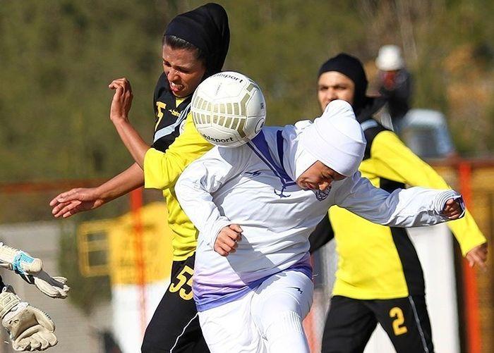 هفته هفدهم لیگ برتر فوتبال بانوان با شکست وچان کردستان پیگیری شد