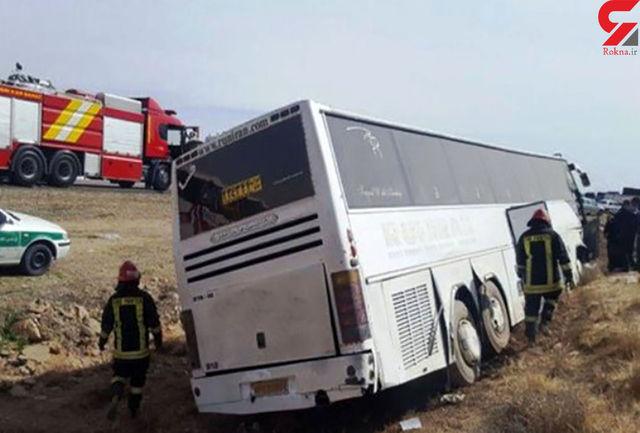 حادثه در اتوبان زنجان به قزوین 2 کشته برجای گذاشت