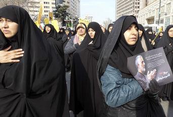 راهپیمایی مردم مشهد علیه جنایات آمریکا