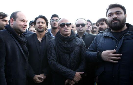 تشیع پیکر مرحوم پورحیدری