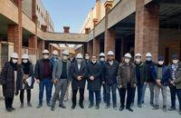 حضور شهردار تبریز در جمع مهندسان پروژه عتیق