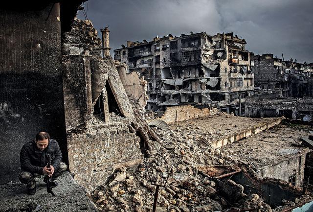 حمله خمپارهای تروریستها به حلب