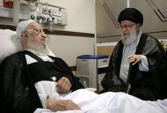 رهبری از حضرت آیت الله مکارم شیرازی عیادت کردند