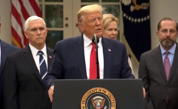 حرفهای کرونایی ترامپ، آمریکا را بهم ریخت