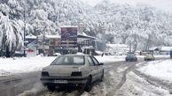 بارش پراکنده برف و باران در ۸ استان کشور