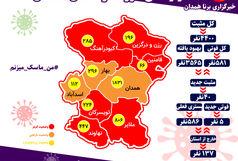 تداوم روند افزایش ابتلا به کرونا در استان همدان/ ابتلای 40 همدانی به کرونا در شبانه روز گذشته