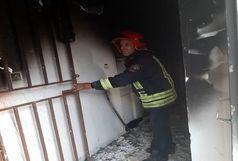 اطفای به موقع آتش سوزی انبار ابزار آلات