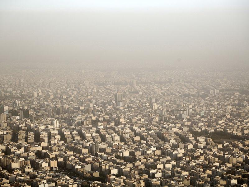 گرد و غبار هوای تهران