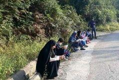 شیطنت رسانهای یک دانش آموز در گیلان