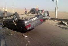 واژگونی خودروی آر دی حادثه آفرید