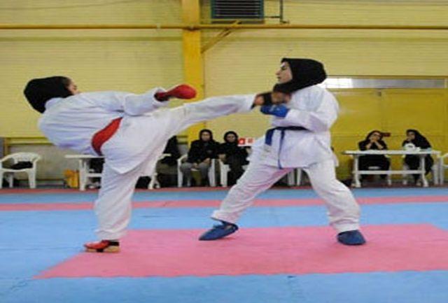 12 مدال طلا و نقره حاصل تلاش دختران کاراته کای سمنان