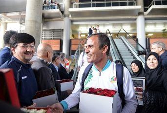 بازگشت کاروان ورزشی ایران از مسابقات المپیک جوانان