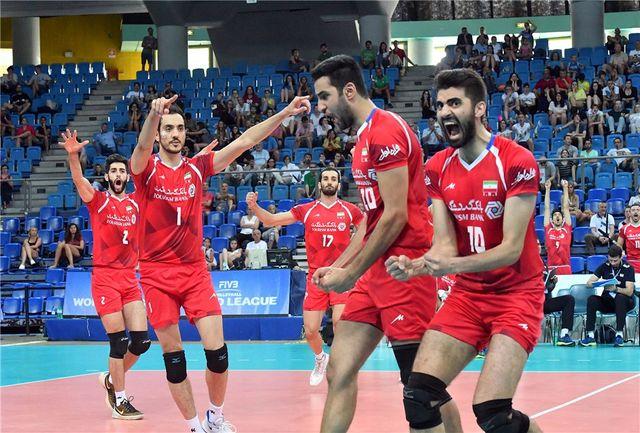 تیم ملی والیبال ایران به مصاف کانادا میرود