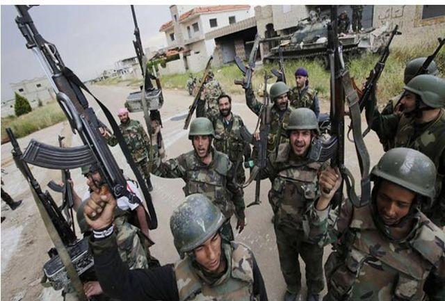 تروریستها در شهر «درعا» تسلیم شدند