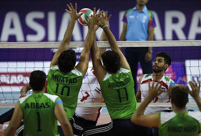 تیم ملی والیبال نشسته مردان ایران به فینال رسید