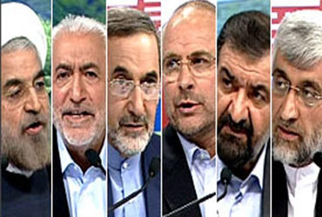 حسن روحانی همچنان در صدر/ قالیباف و جلیلی در رتبههای دوم و سوم