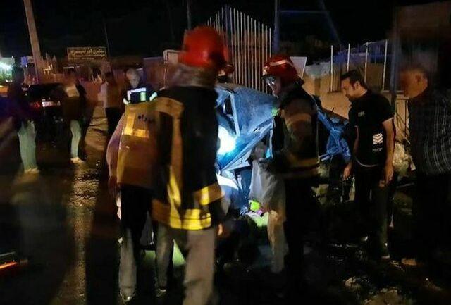 یک کشته و ۴ مصدوم در حادثه رانندگی در تبریز- آذرشهر