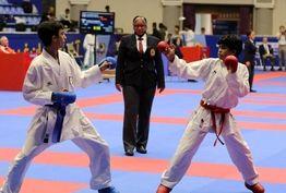 پایان رده سنی جوانان مسابقات بینالمللی جایزه بزرگ کاراته اورمیا-اوپن