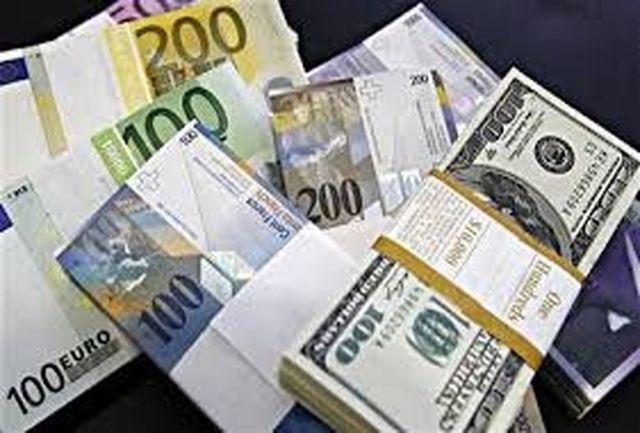 افزایش نرخ 35 ارز بانکی/ دلار4327 تومان