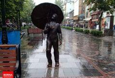 بارش باران تا پایان هفته آینده در کردستان ادامه دارد
