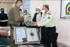 ایثار و فداکاری سرباز ناجا در نجات شهروند قزوینی
